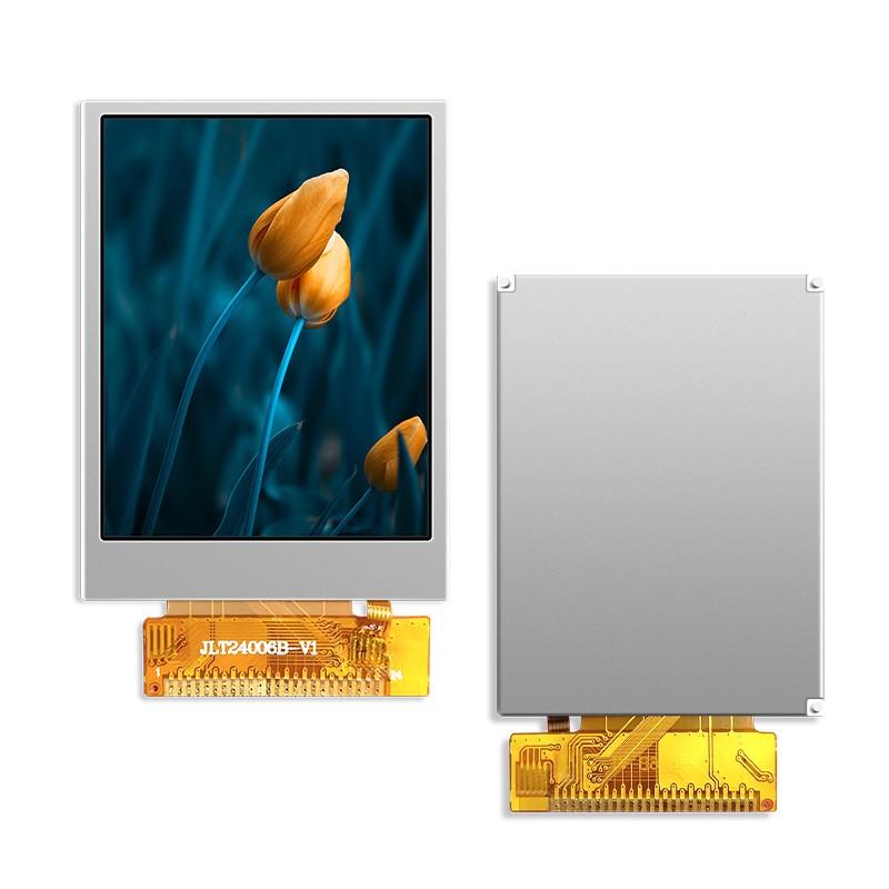 2.4寸液晶屏-JLT24006B-上铁