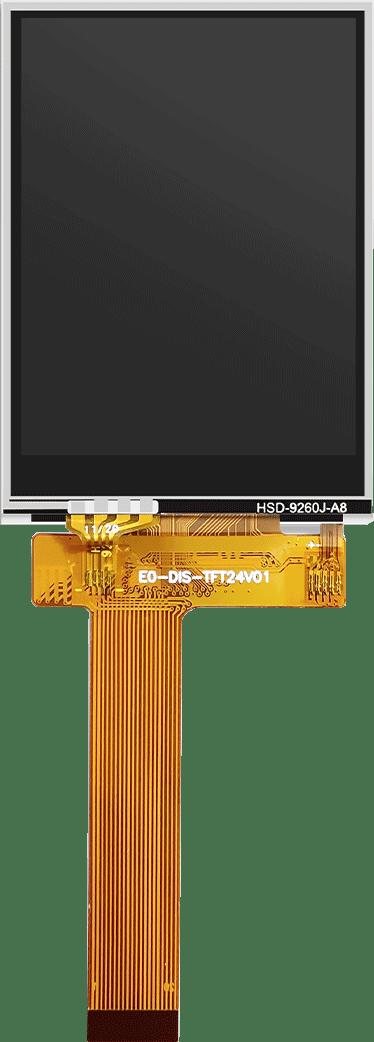 """.4寸液晶屏-JLT24097C.24V01(有电阻)"""""""
